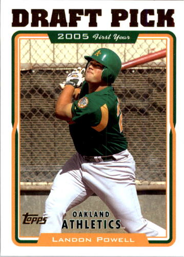 Photo of 2005 Topps #676 Landon Powell FY RC