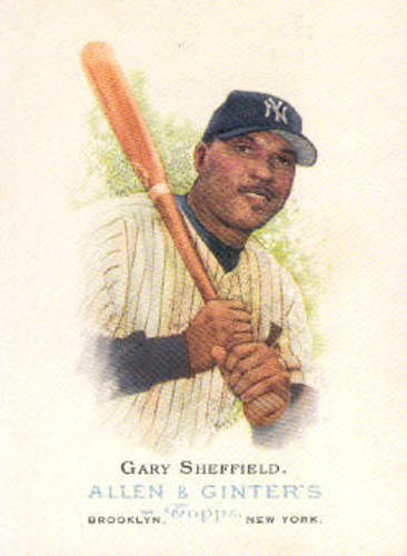 Photo of 2006 Topps Allen and Ginter #250 Gary Sheffield