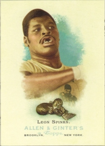 Photo of 2006 Topps Allen and Ginter #313 Leon Spinks