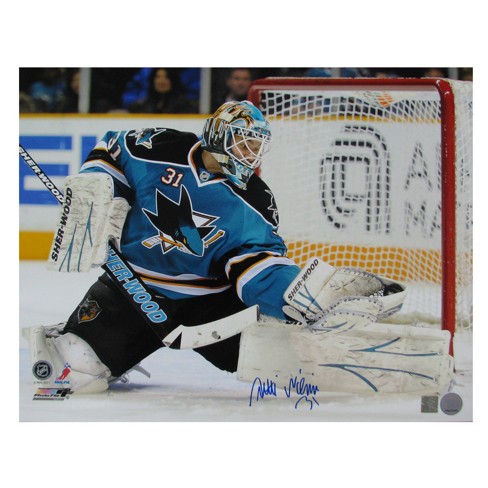 ANTTI NIEMI Signed San Jose Sharks 16 X 20 Photo - 79011