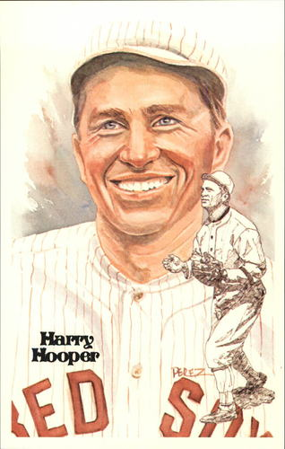 Photo of 1980-02 Perez-Steele Hall of Fame Postcards #122 Harry Hooper  -- HOF Class of 1971