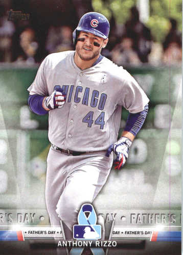 Photo of 2018 Topps Salute #TS15 Anthony Rizzo