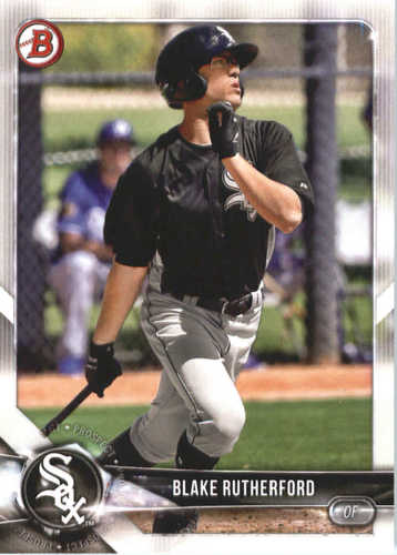 Photo of 2018 Bowman Prospects #BP140 Blake Rutherford