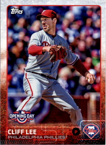 Photo of 2015 Topps Opening Day #190 Cliff Lee