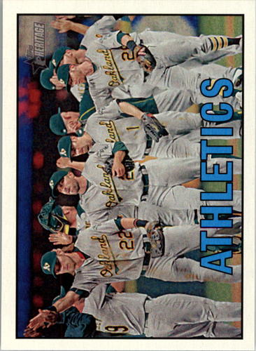 Photo of 2016 Topps Heritage #353 Oakland Athletics