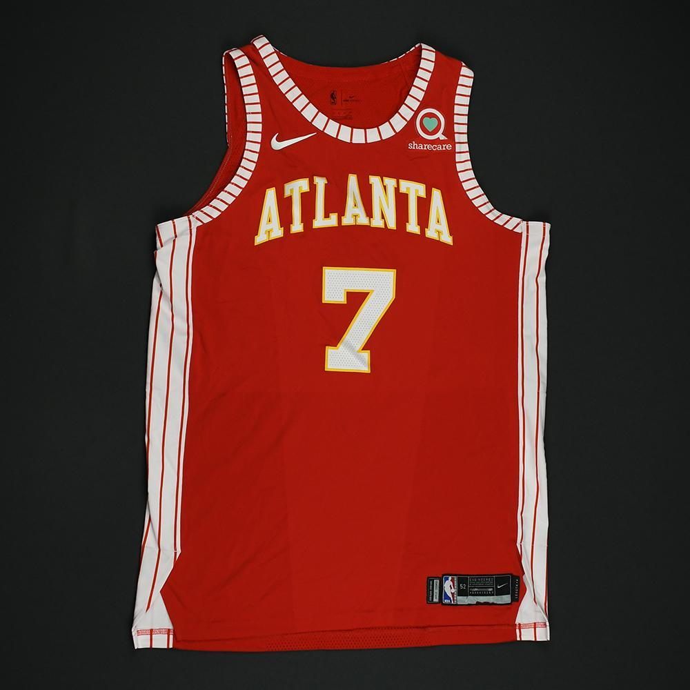 Ersan Ilyasova - Atlanta Hawks - Game-Issued Classic Edition 1970-72 Road Style Jersey - 2017-18 Season