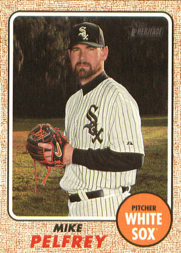 Photo of 2017 Topps Heritage #635 Mike Pelfrey
