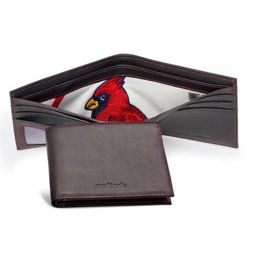 Photo of Tokens & Icons St. Louis Cardinals Emblem Uniform Wallet