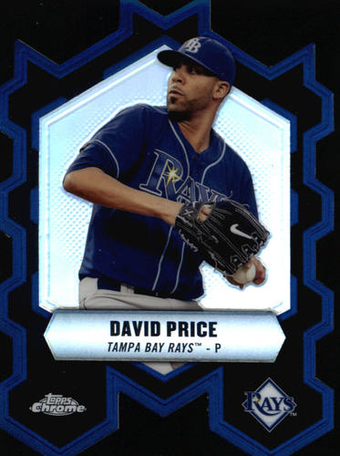 Photo of 2013 Topps Chrome Chrome Connections Die Cuts #CCDP David Price