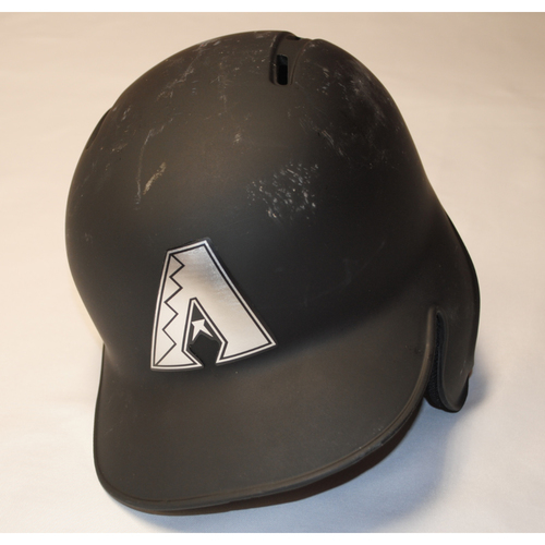 "Photo of Adam ""ROOTS"" Jones Arizona Diamondbacks Game-Used 2019 Players' Weekend Helmet"