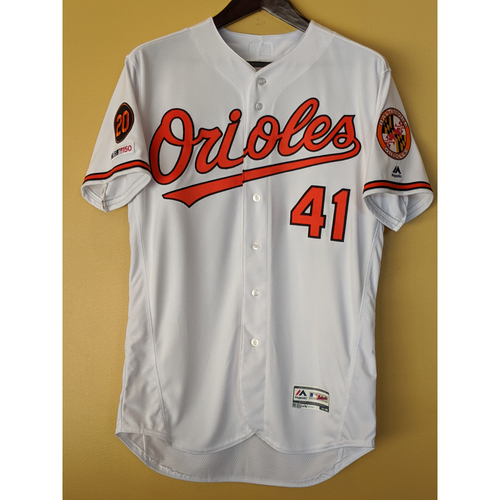 Photo of David Hess - Home Finale Jersey: Game-Used