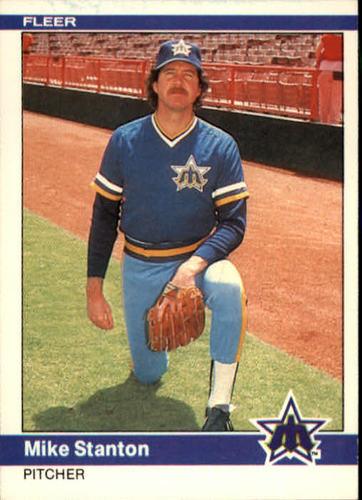 Photo of 1984 Fleer #619 Mike Stanton