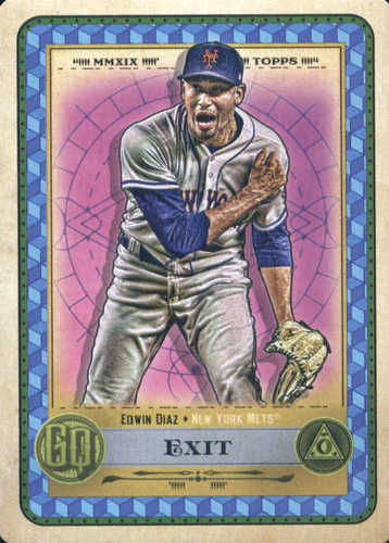 Photo of 2019 Topps Gypsy Queen Tarot of the Diamond #13 Edwin Diaz