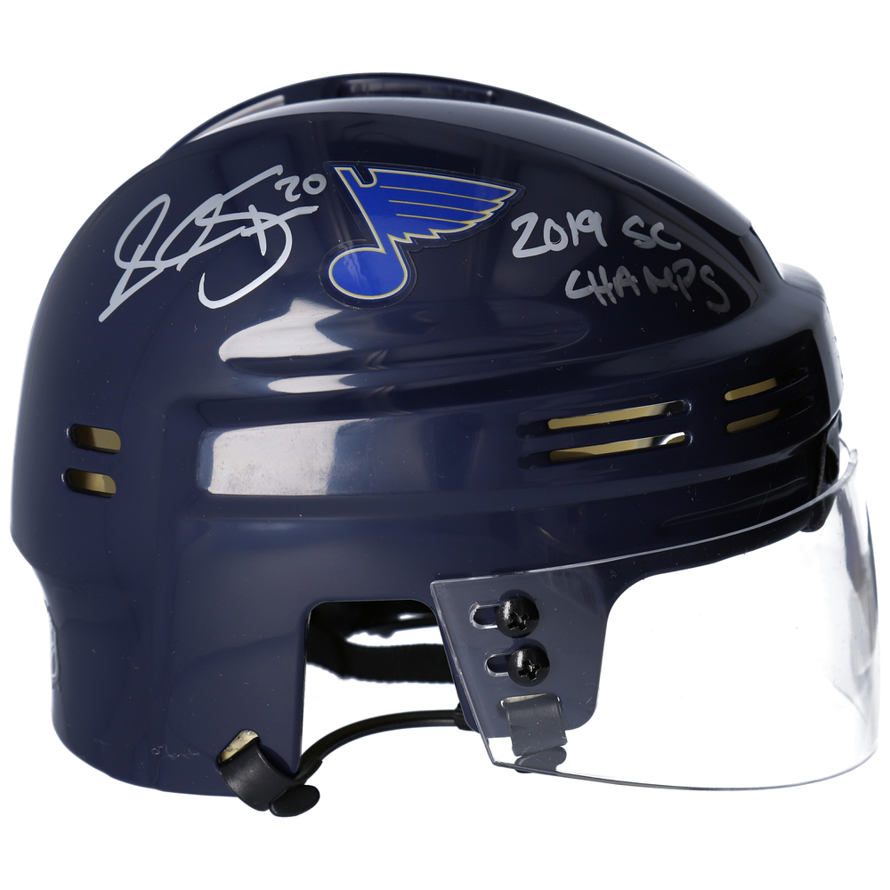 Alexander Steen St. Louis Blues Autographed Navy Mini Helmet with