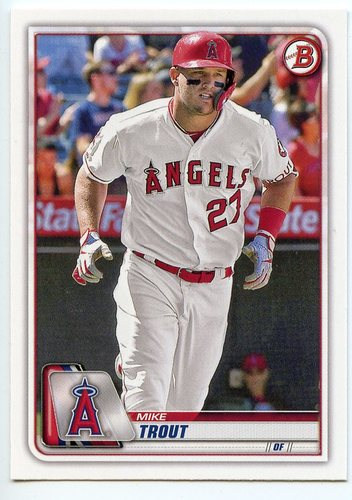 Photo of 2020 Bowman #1 Mike Trout