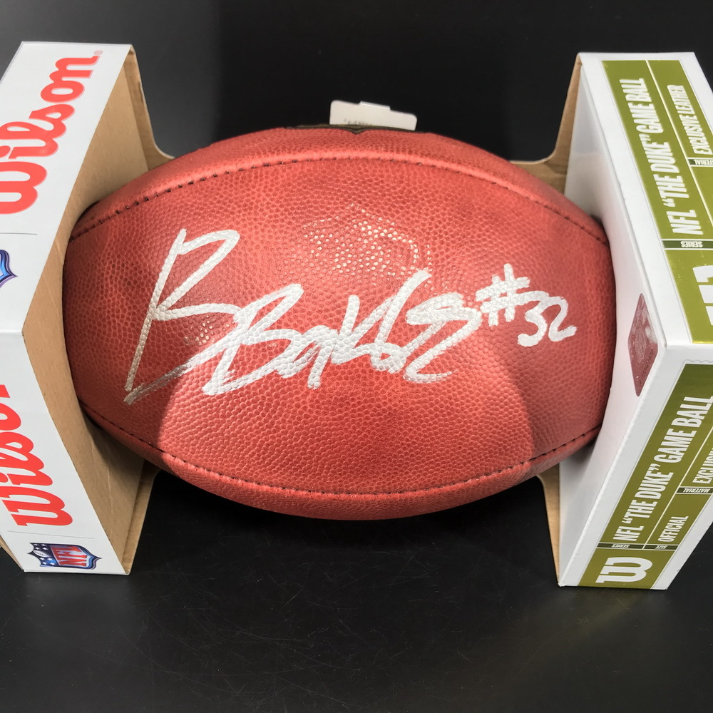 NFL - Cardinals Budda Baker Signed Authentic Football