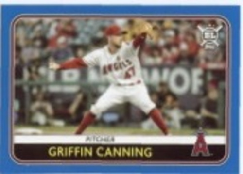 Photo of 2020 Topps Big League Blue #20 Griffin Canning
