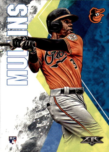 Photo of 2019 Topps Fire #56 Cedric Mullins RC