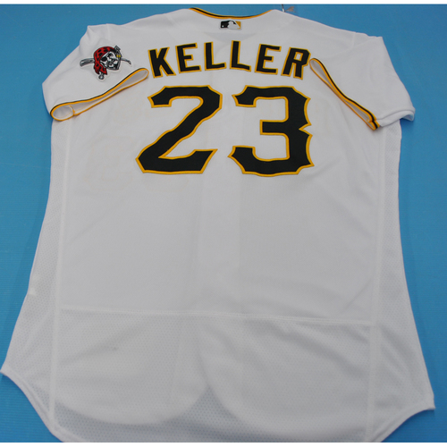 Photo of Game-Used Jersey: Mitch Keller - MIL vs. PIT - 7/27/2020 - Size 46