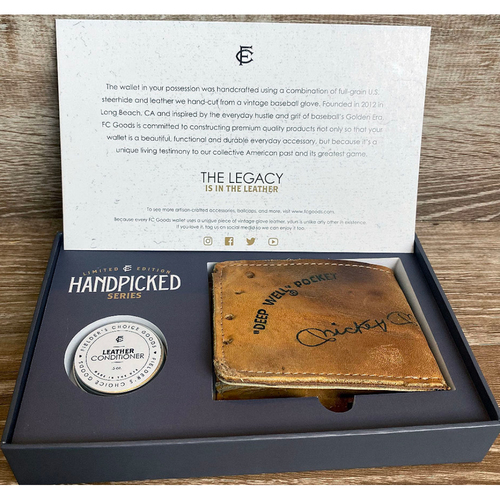 Photo of UMPS CARE AUCTION: Fielder's Choice Goods Handpicked Collection Series Wallet - Mickey Mantle