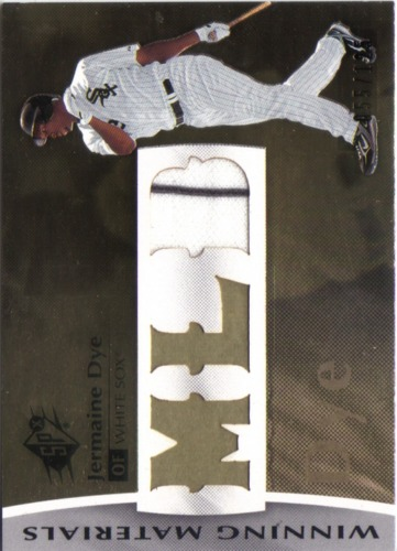 Photo of 2008 SPx Winning Materials MLB 125 #DY Jermaine Dye