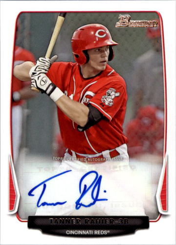 Photo of 2013 Bowman Prospect Autographs #TR Tanner Rahier