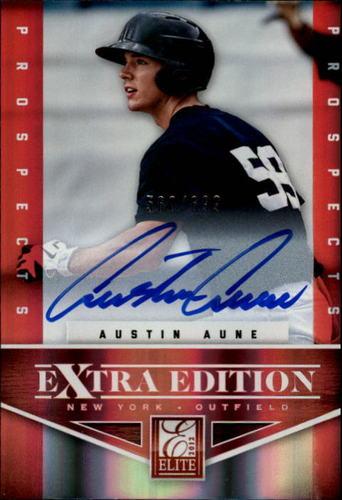 Photo of 2012 Elite Extra Edition #140 Austin Aune AU/699