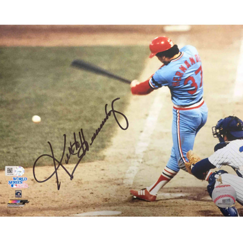 Photo of Cardinals Authentics: Keith Hernandez Autographed Photo