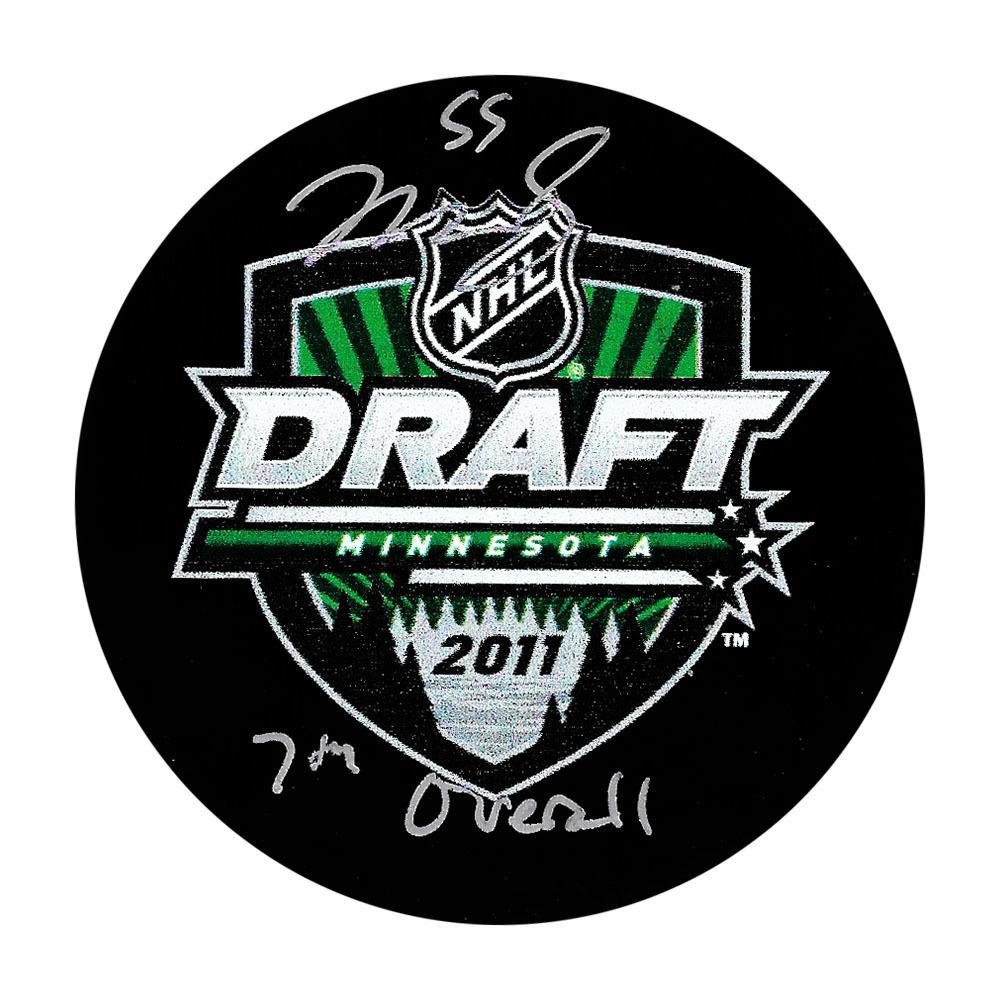 Mark Scheifele Autographed 2011 NHL Entry Draft Puck (Winnipeg Jets)