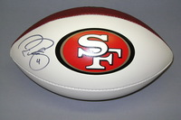 49ERS - PHIL DAWSON SIGNED PANEL BALL W/ 49ERS LOGO