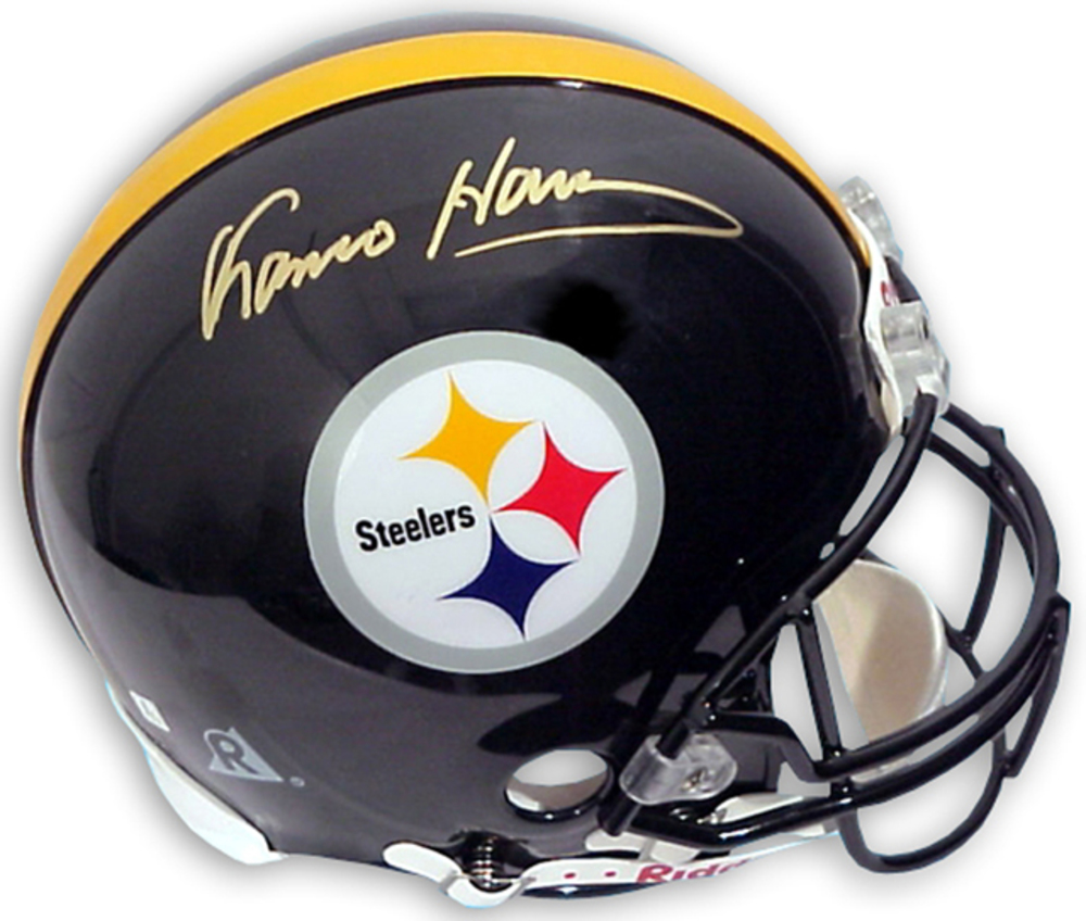 Franco Harris Pittsburgh Steelers Autographed Riddell Pro-Line Authentic Helmet