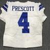 Crucial Catch - Cowboys Dak Prescott game worn Cowboys jersey w/ Captains Patch (October 8, 2017) Size 44
