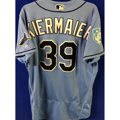 Photo of Game Used Spring Training Jersey: Kevin Kiermaier - February 22, 2019 v PHI and March 26, 2019 v DET