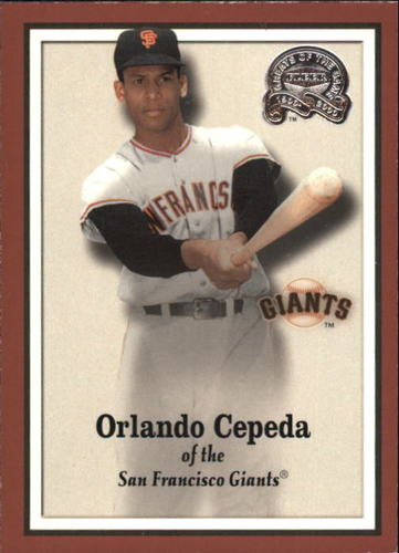 Photo of 2000 Greats of the Game #93 Orlando Cepeda