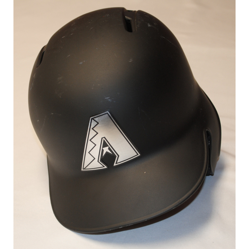 "Photo of Carson ""CARS"" Kelly Arizona Diamondbacks Game-Used 2019 Players' Weekend Helmet"