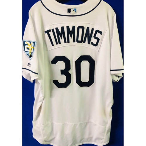 Photo of Game-Used Jersey: Ozzie Timmons (size 50) - September 24-27 (NYY) & September 28 (TOR)