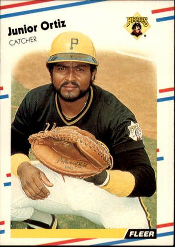 Photo of 1988 Fleer #335 Junior Ortiz