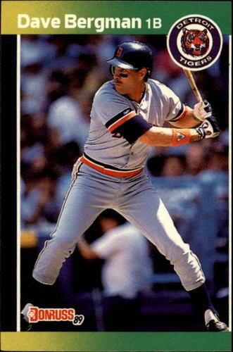 Photo of 1989 Donruss #389 Dave Bergman
