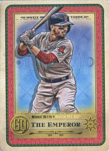 Photo of 2019 Topps Gypsy Queen Tarot of the Diamond #15 Mookie Betts