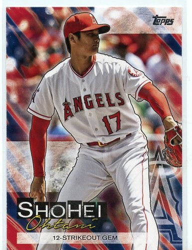 Photo of 2019 Topps Update Shohei Ohtani Highlights #SO8 Shohei Ohtani
