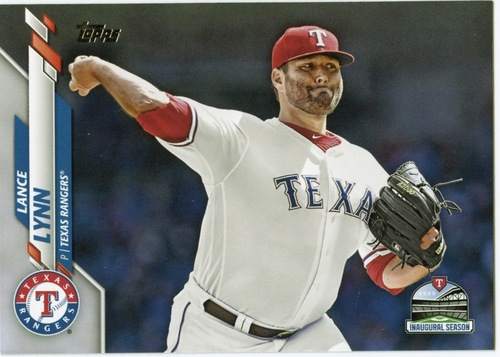 Photo of 2020 Topps #633 Lance Lynn
