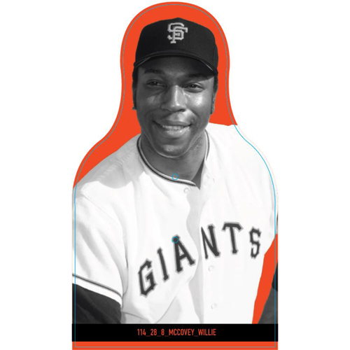 Photo of Giants Community Fund: Giants Willie McCovey Cutout