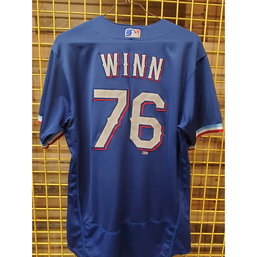 Photo of Cole Winn Team-Issued Spring Training Jersey