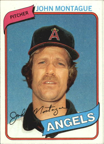 Photo of 1980 Topps #253 John Montague