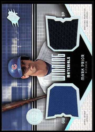 Photo of 2004 SPx Winning Materials Dual Jersey #MP Mark Prior
