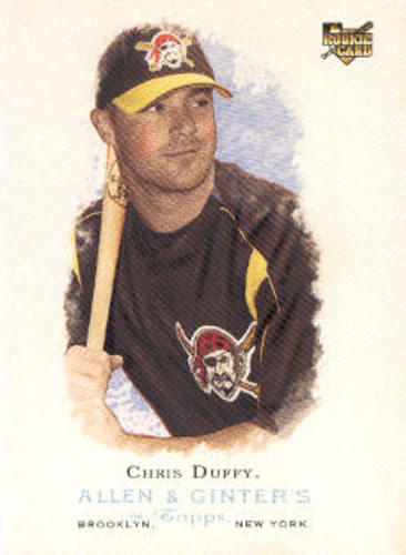 Photo of 2006 Topps Allen and Ginter #258 Chris Duffy (RC)