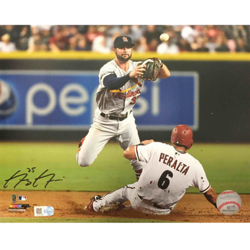 Cardinals Authentics: Greg Garcia Autographed Photo