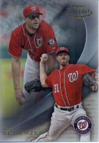 Photo of 2016 Topps Gold Label Class 1 #99 Max Scherzer -- Nationals post-season
