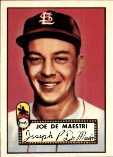 Photo of 1983 Topps 1952 Reprint #286 Joe DeMaestri