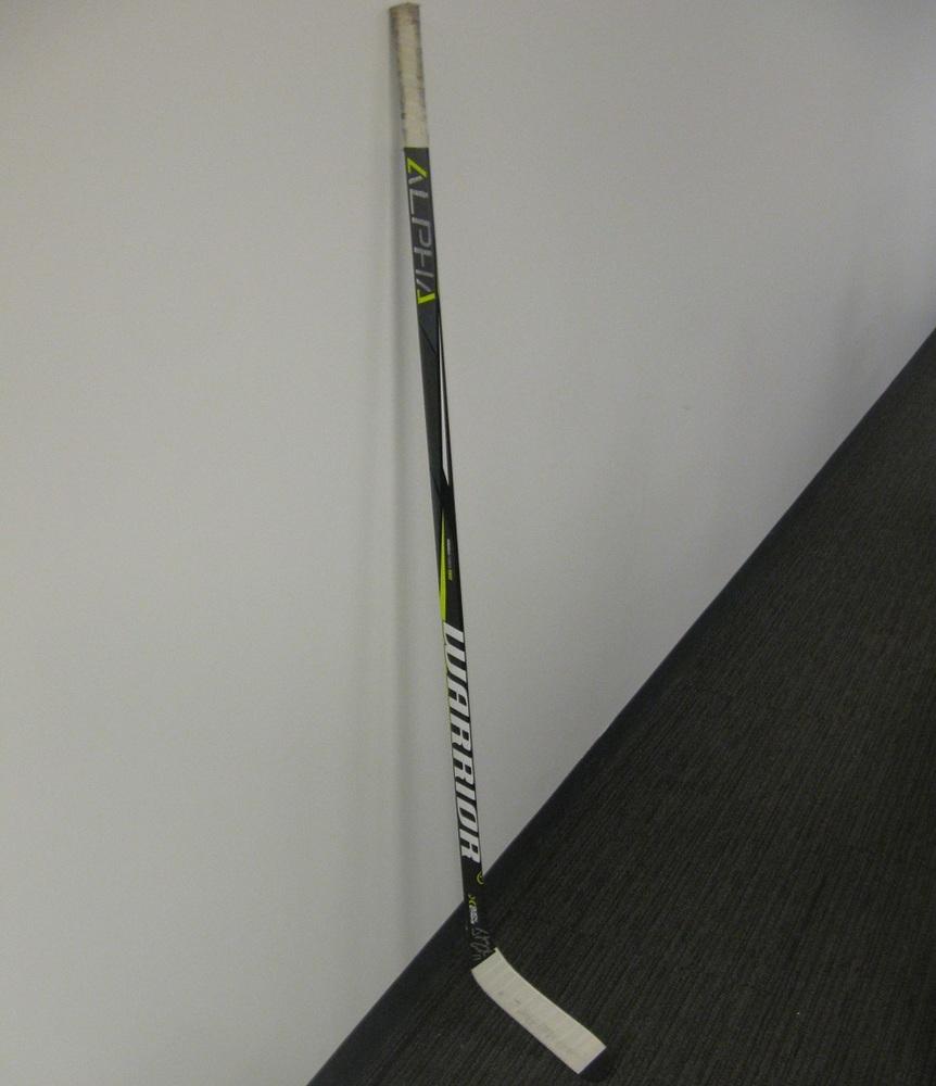 Johnny Gaudreau Autographed Warrior Hockey Sticks from Player Media Tour - Calgary Flames